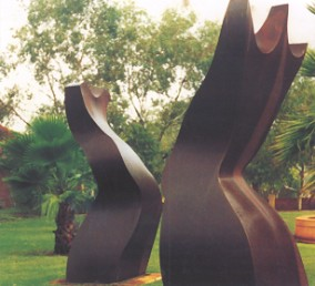 Ron Gomboc - King & Queen, Sculpture Park